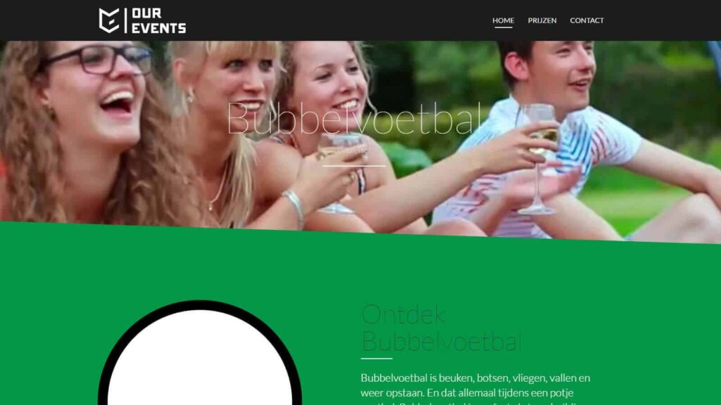 bubbel voetbal overijssel website