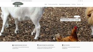 zorgboerderij klein canada website