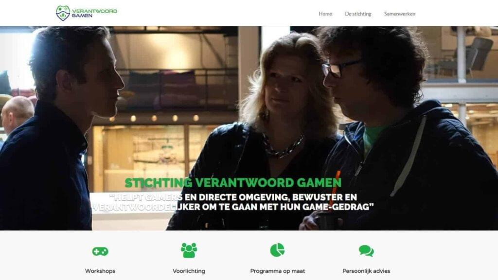 verantwoord gamen website
