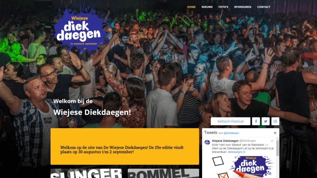 Website diekdaegen